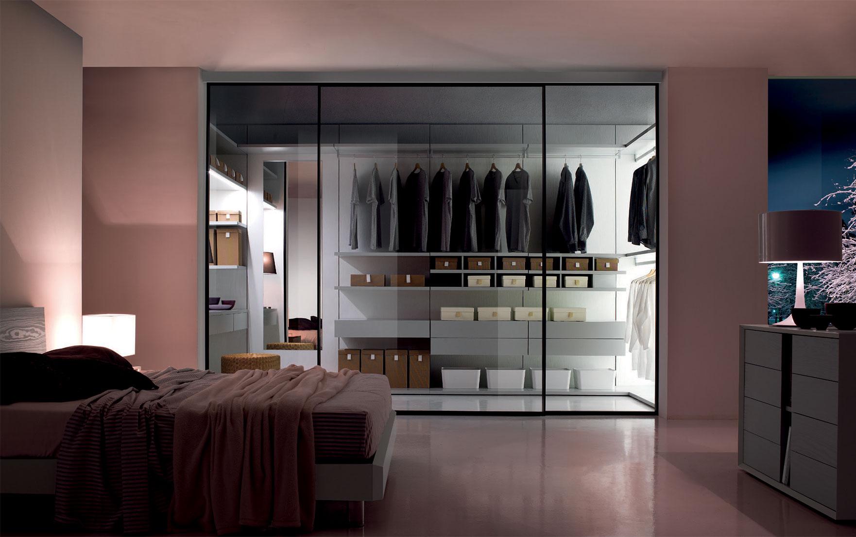 Cabina armadio a vista ecco le proposte burgio mobili for Cabina armadio